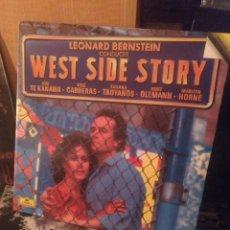 Discos de vinilo: WEST SIDE STORY. DEUTSCHE GRAMMOPHON 1985. Lote 254837050