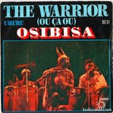 Discos de vinilo: OSIBISA - THE WARRIOR - 1975 - DISTINTA CUBIERTA - ROCK AFRICA.. Lote 254841290