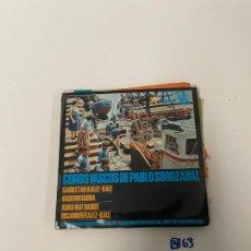 Discos de vinilo: COROS VASCOS. Lote 254844490