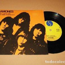 Discos de vinilo: RAMONES - BABY, I LOVE YOU - SINGLE - 1980 - IMPORT. Lote 254844495