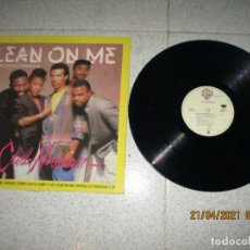 Discos de vinilo: CLUB NOUVEAU - LEAN ON ME - MAXI - SPAIN - WARNER - LV -. Lote 254844560