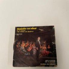 Discos de vinilo: MANOLO ESCOBAR. Lote 254844645
