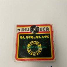 Discos de vinilo: DISCOTECA BLACK IS BLACK. Lote 254844650
