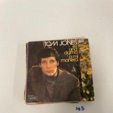 Discos de vinilo: TOM JONES. Lote 254844660