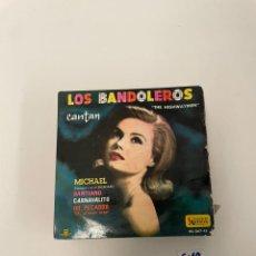 Discos de vinilo: LOS BANDOLEROS. Lote 254844705