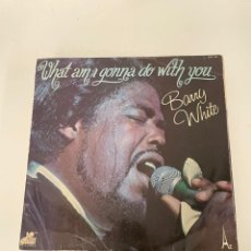 Discos de vinilo: BARRY WHITE. Lote 254849835