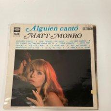 Discos de vinilo: ALGUIEN CANTO. Lote 254852835