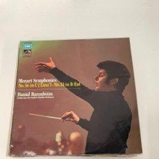 Discos de vinilo: MOZART SYMPHONIES. Lote 254853190
