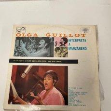 Discos de vinilo: OLGA GUILLOT. Lote 254853270