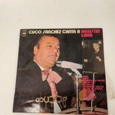 Discos de vinilo: CUCO SANCHEZ. Lote 254853865