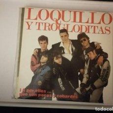 Discos de vinilo: DISCO DOBLE LP--LOQUILLO Y LOS TROGLODITAS-A POR ELLOS -AÑO 1989-CON CANCIONERO Y ENCARTE. Lote 254855985