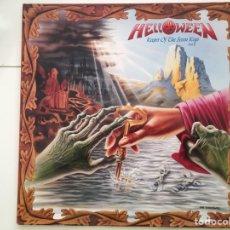 Discos de vinilo: HELLOWEEN: KEEPER OF THE SEVEN KEYS PART II. Lote 254856525