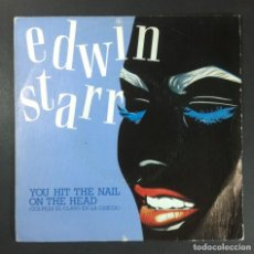 Discos de vinilo: EDWIN STARR - YOU HIT THE NAIL ON THE HEAD / OVER AND OVER - SINGLE 1983 - AVATAR. Lote 254872085