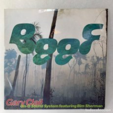 Discos de vinilo: LP - VINILO GARY CLAIL ON-U SOUND SYSTEM FEATURING BIM SHERMAN - BEEF - UK - AÑO 1990. Lote 254875055