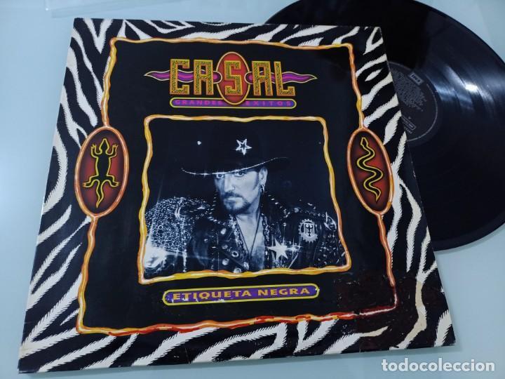 TINO CASAL - GRANDES EXITOS - (ETIQUETA NEGRA).VINILO EMI - 1991 LP POSTUMO ..UNICO - DESCATALOGADO (Música - Discos - LP Vinilo - Solistas Españoles de los 70 a la actualidad)