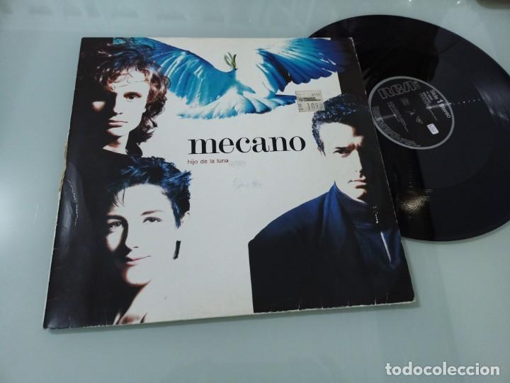 MECANO - HIJO DE LA LUNA .. MAXISINGLE DE BMG - ARIOLA - 1988 - MUY DIFICIL EDICION GERMANY (Música - Discos de Vinilo - Maxi Singles - Grupos Españoles de los 70 y 80)