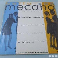 Discos de vinilo: MECANO - BAILA CON MECANO ..MAXISINGLE - PROMOCIONAL DE 1986 - LABEL BLANCO - MUY DIFICIL. Lote 254901495