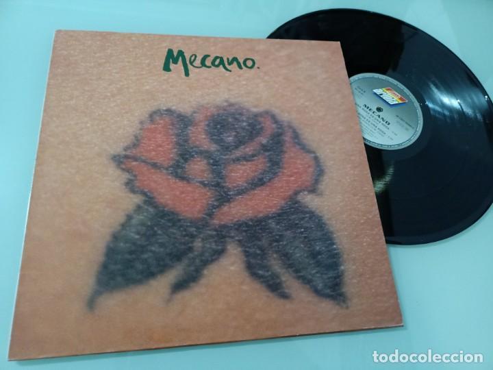 MECANO - UNA ROSA ES UNA ROSA ..MAXISINGLE DE 1992 - INCLUYE VERSIÓN ITALIANA Y EN VIVO (Música - Discos de Vinilo - Maxi Singles - Grupos Españoles de los 70 y 80)