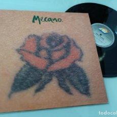 Discos de vinilo: MECANO - UNA ROSA ES UNA ROSA ..MAXISINGLE DE 1992 - INCLUYE VERSIÓN ITALIANA Y EN VIVO. Lote 254903325