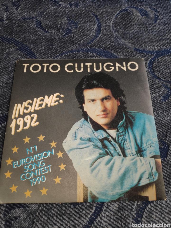 SINGLE VINILO EUROVISION 92 - TOTO CUTUGNO - INSIEME 1992 (Música - Discos - Singles Vinilo - Festival de Eurovisión)