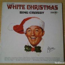 Discos de vinilo: BING CROSBY -WHITE CHRISTMAS- LP CORAL MCA ED. ALEMANA COPS 1011 MUY BUENAS CONDICIONES.. Lote 254908750