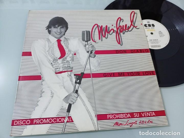 MIGUEL BOSE - DON DIABLO + GIVE ME YOUR LOVE...MAXISINGLE - PROMOCIONAL CBS 1980 (Música - Discos - LP Vinilo - Solistas Españoles de los 70 a la actualidad)