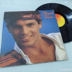 Discos de vinilo: MIGUEL BOSE QUAND CA VA MAL - LP - VERSION EN FRANCES DEL LP MAS ALLA DE 1982. Lote 254911750