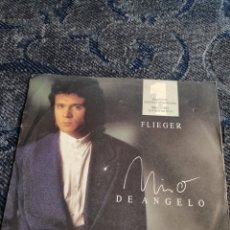 Disques de vinyle: SINGLE VINILO EUROVISION 89 - EDICIÓN ALEMANA - NINO DE ANGELO - FLIEGER. Lote 254912505