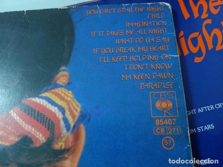 Discos de vinilo: MIGUEL BOSE - STAY THE NIGHT ..LP - VERSION EN INGLES DEL LP MAS ALLA DE 1981 CBS CON LETRAS - Foto 3 - 254913010