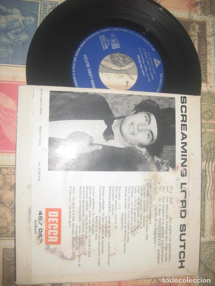 Discos de vinilo: Screaming Lord Sutch ?– Screaming Lord 1965 ep decca francia R2 - Foto 2 - 254913695