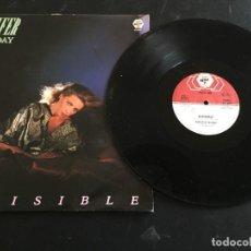 """Discos de vinilo: JENNIFER MUNDAY - INVISIBLE - 12"""" ORIGINAL ITALIA - ITALO DISCO. Lote 254915725"""