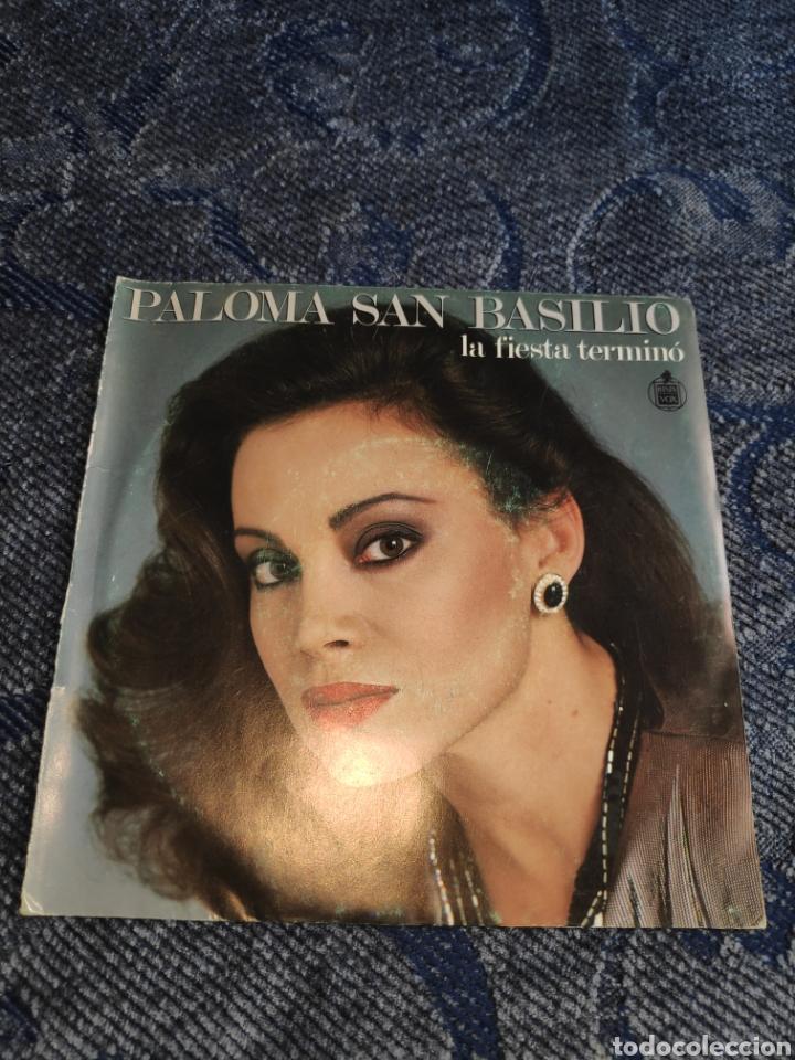 SINGLE VINILO EUROVISION - PALOMA SAN BASILIO - LA FIESTA TERMINÓ (Música - Discos - Singles Vinilo - Festival de Eurovisión)