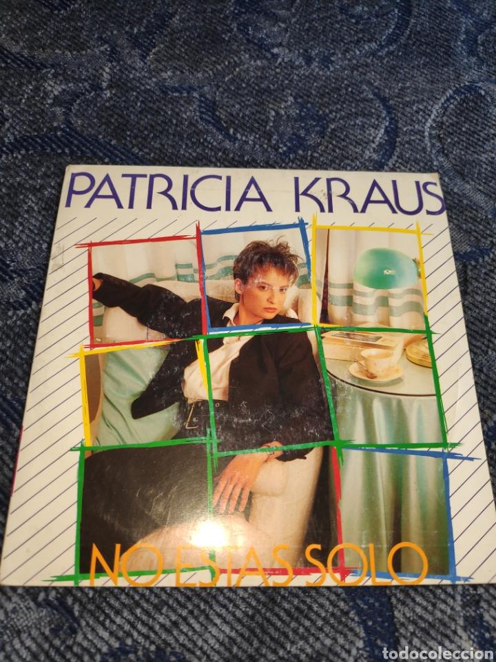 SINGLE VINILO EUROVISION 87 - PATRICIA KRAUS - NO ESTÁS SÓLO (Música - Discos - Singles Vinilo - Festival de Eurovisión)
