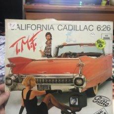 Discos de vinilo: CALIFORNIA CADILLAC 6;26 CANTANTE DE PATTO RAF RECORDS. Lote 254920700
