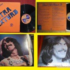 Discos de vinilo: BEATLES - GEORGE HARRISON / EXTRA TEXTURE 75, 1ª EDIC ORIG USA APPLE + ENCARTE, VINILO EXC. Lote 34693384