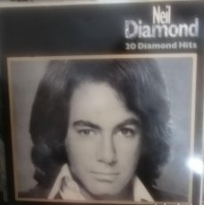 Discos de vinilo: NEIL DIAMOND - 20 DIAMOND HITS - GATEFOLD - 2 LP. Lote 254925095