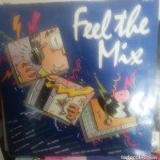 Discos de vinilo: FEEL THE MIX - RECOPILATORIO DANCE ZAFIRO 1986. Lote 254925575