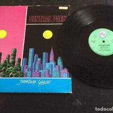 "Discos de vinilo: JONATHAN GABLE – CENTRAL PARK - 12"" ORIGINAL ITALIA - ITALO DISCO. Lote 254932320"