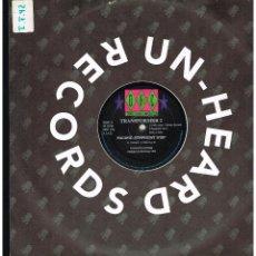 Discos de vinilo: TRANSFORMER 2 - PACIFIC SYNPHONY - MAXI SINGLE 1992 - ED. ITALIA. Lote 254932360