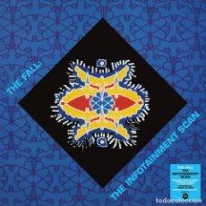 Discos de vinilo: LP THE FALL THE INFOTAINMENT SCAN VINILO TRANSPARENTE POST PUNK. Lote 254937370