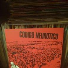 Discos de vinil: CÓDIGO NEUROTICO / CÓDIGO NEUROTICO / DISCOS ENFERMOS 2021. Lote 254939420