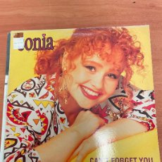 Discos de vinilo: SONIA - CAN´T FORGET YOU. Lote 254949025