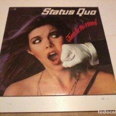 Discos de vinilo: STATUS QUO LP JUST FOR THE RECORD ESP1980. Lote 254949040