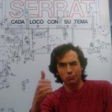 """Discos de vinilo: J. MANUEL SERRAT. """"CADA LOCO CON SU TEMA"""" .. Lote 254950895"""