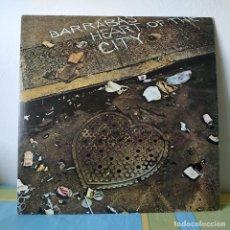 Discos de vinilo: BARRABAS - HEART OF THE CITY - MUY RARO LP EDITADO POR ORLADOR EN 1975 FUNK SOUL - COMO NUEVO. Lote 254952875