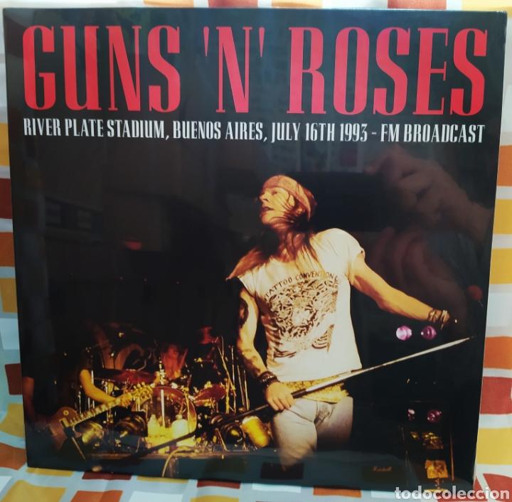 GUNS N' ROSES–RIVER PLATE STADIUM BUENOS AIRES JULY 16TH 1993 . LP VINILO PRECINTADO. (Música - Discos - LP Vinilo - Heavy - Metal)