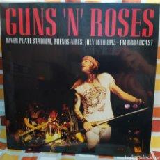 Discos de vinilo: GUNS N' ROSES–RIVER PLATE STADIUM BUENOS AIRES JULY 16TH 1993 . LP VINILO PRECINTADO.. Lote 254956585