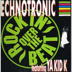 Discos de vinilo: TECHNOTRONIC - ROCKIN' OVER THE BEAT - MAXI SINGLE 1990 - ED. ALEMANIA. Lote 254959385