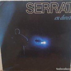 Discos de vinilo: LP DOBLE 2 VINILOS / SERRAT - EN DIRECTO, 1984. Lote 254960270
