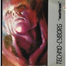 Discos de vinilo: TECHNO-CYBORG - MARTIRUM - MAXI SINGLE 1991 - ED. ITALIA. Lote 254960615